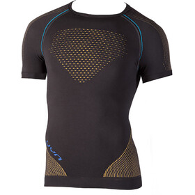 UYN Multisport Evolutyon UW Blouse korte mouwen Heren, charcoal/gold/atlantic